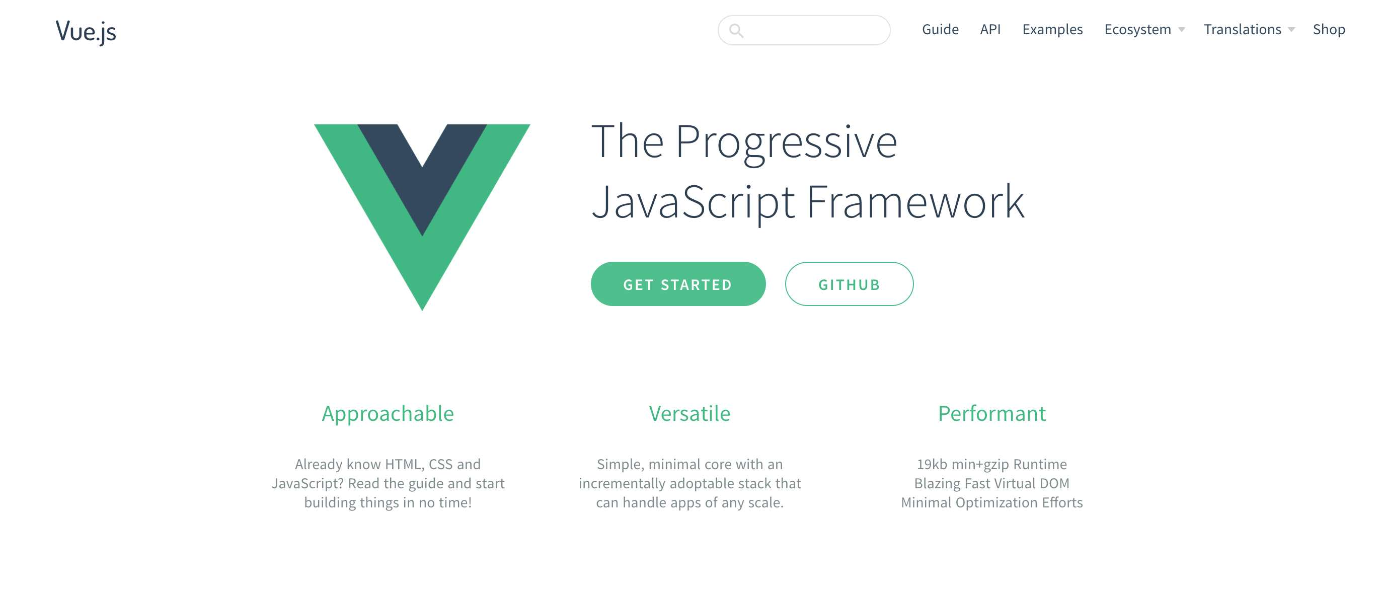 First impressions of Vue.js